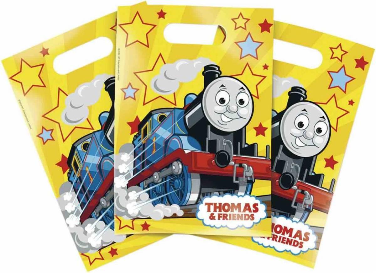 Thomas de Trein Uitdeelzakjes - 6 stuks