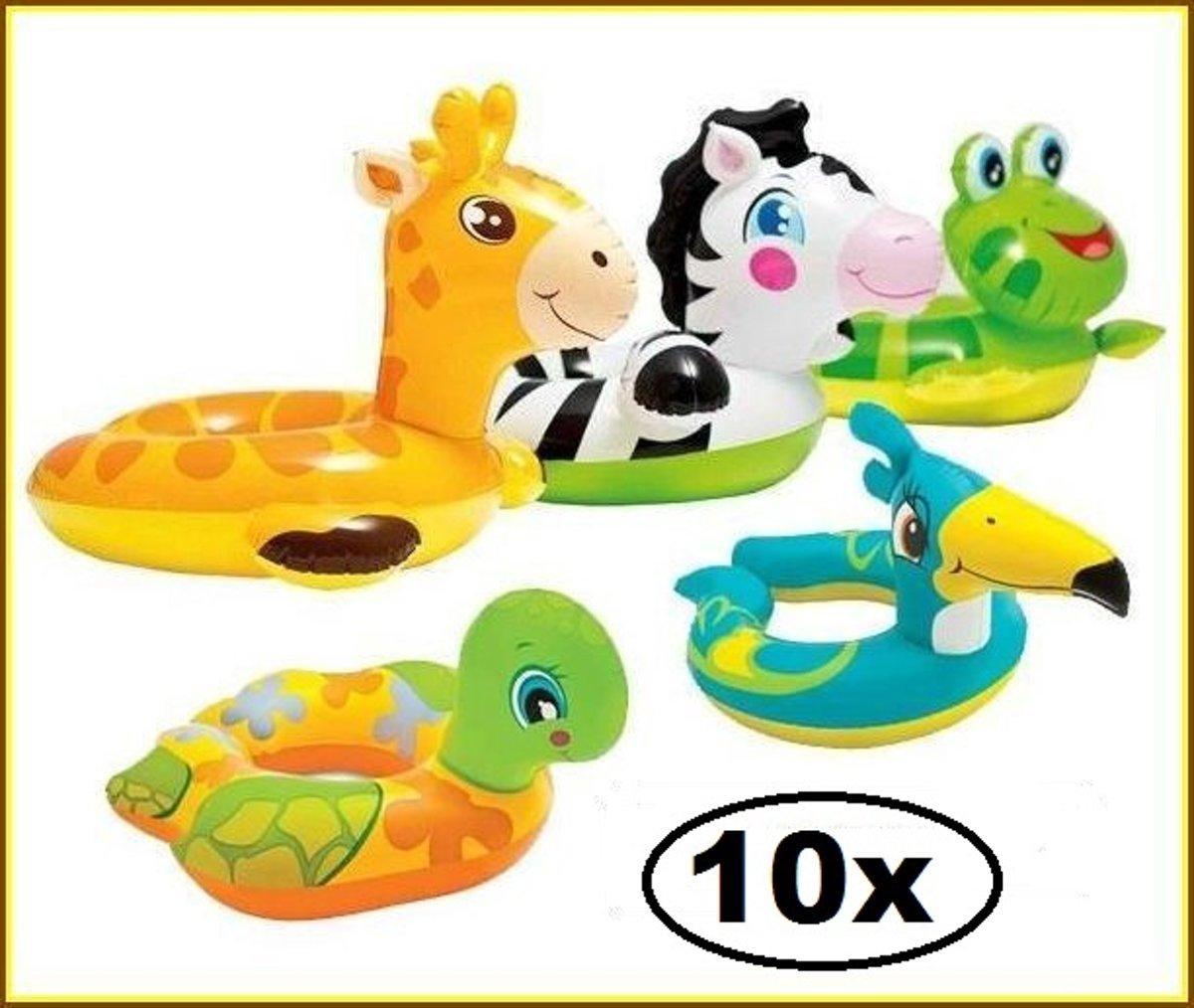 10x Intex Split Zwemband assortie