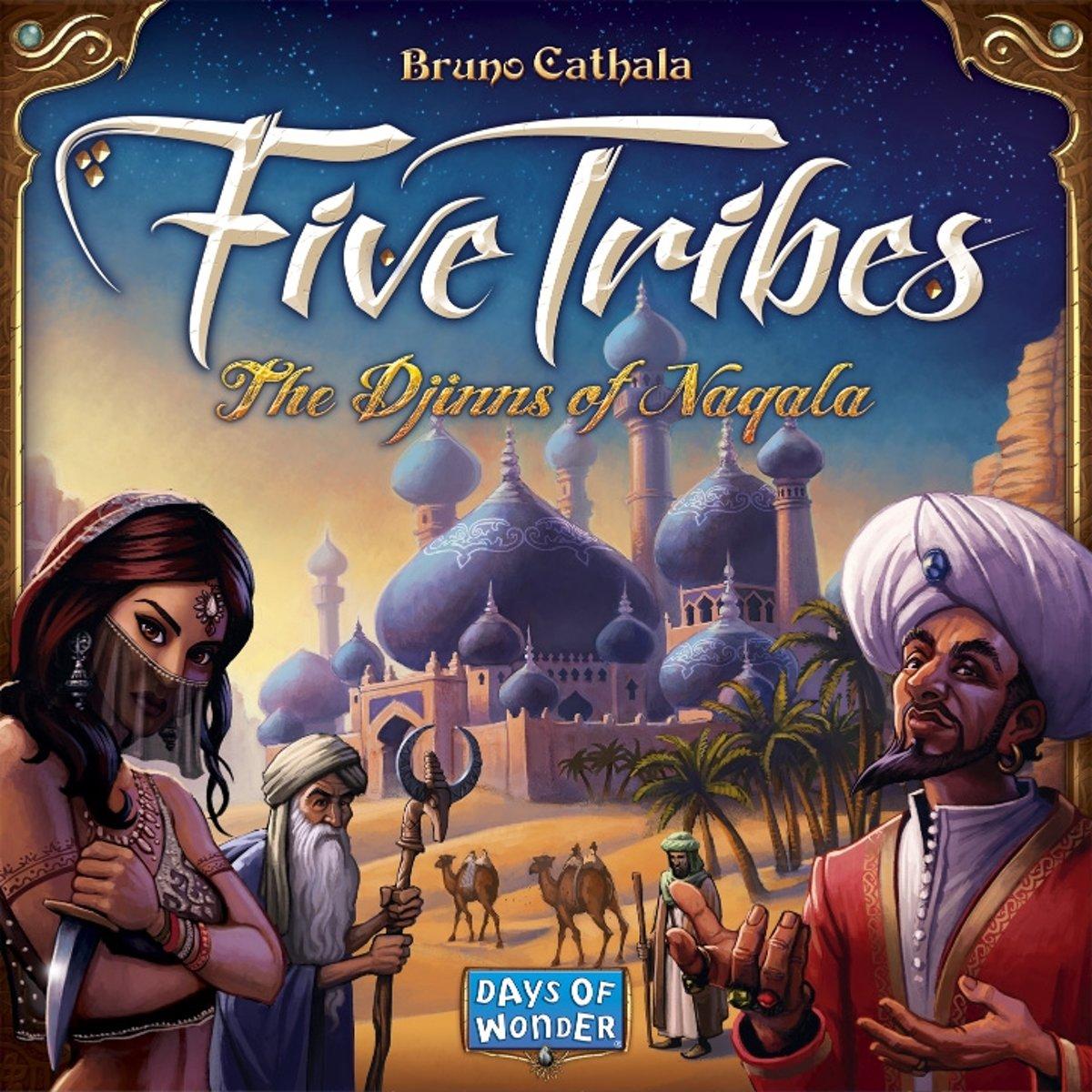 Five Tribes - Bordspel