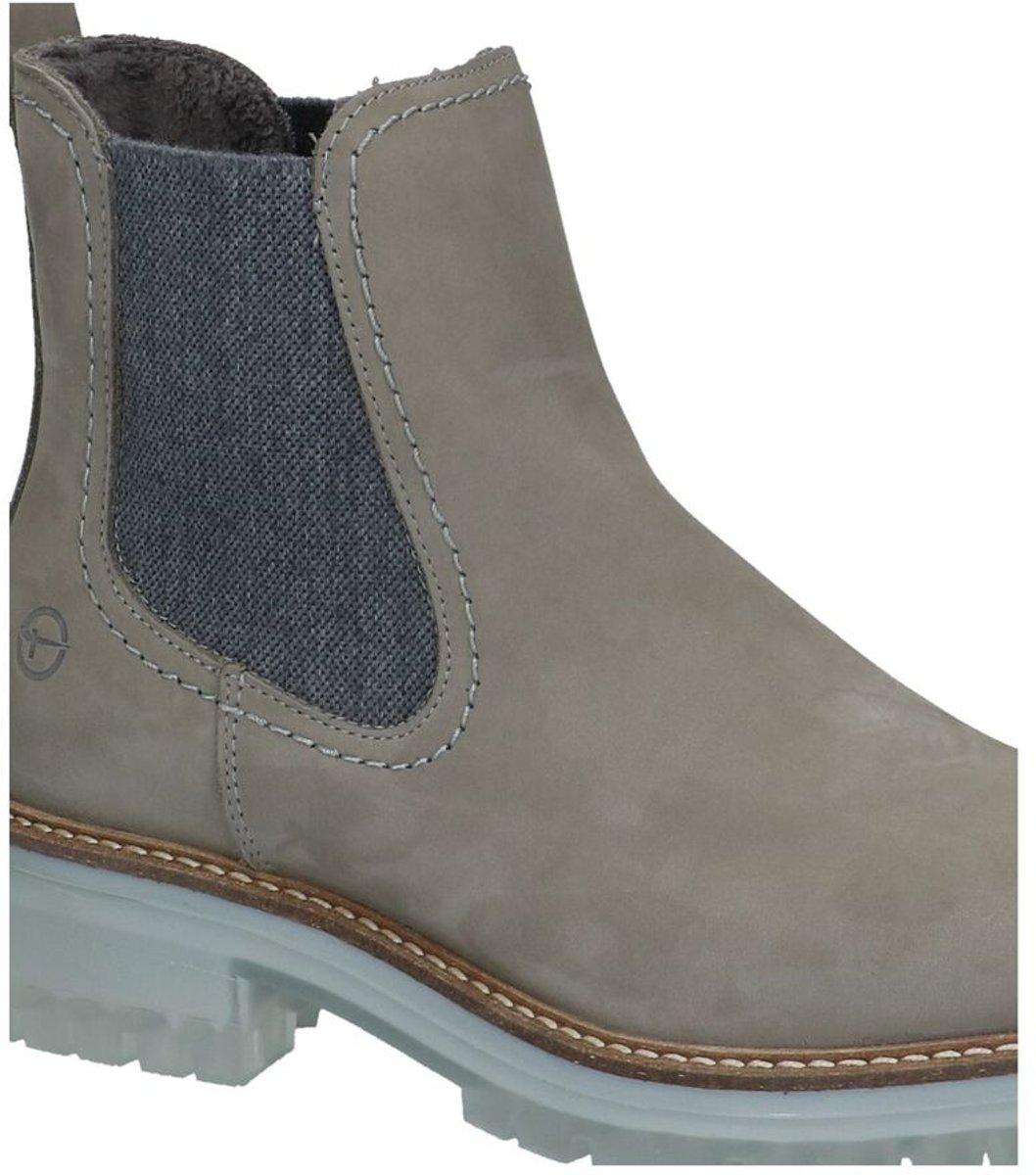 Tamaris Grijze Chelsea Boots Dames 40