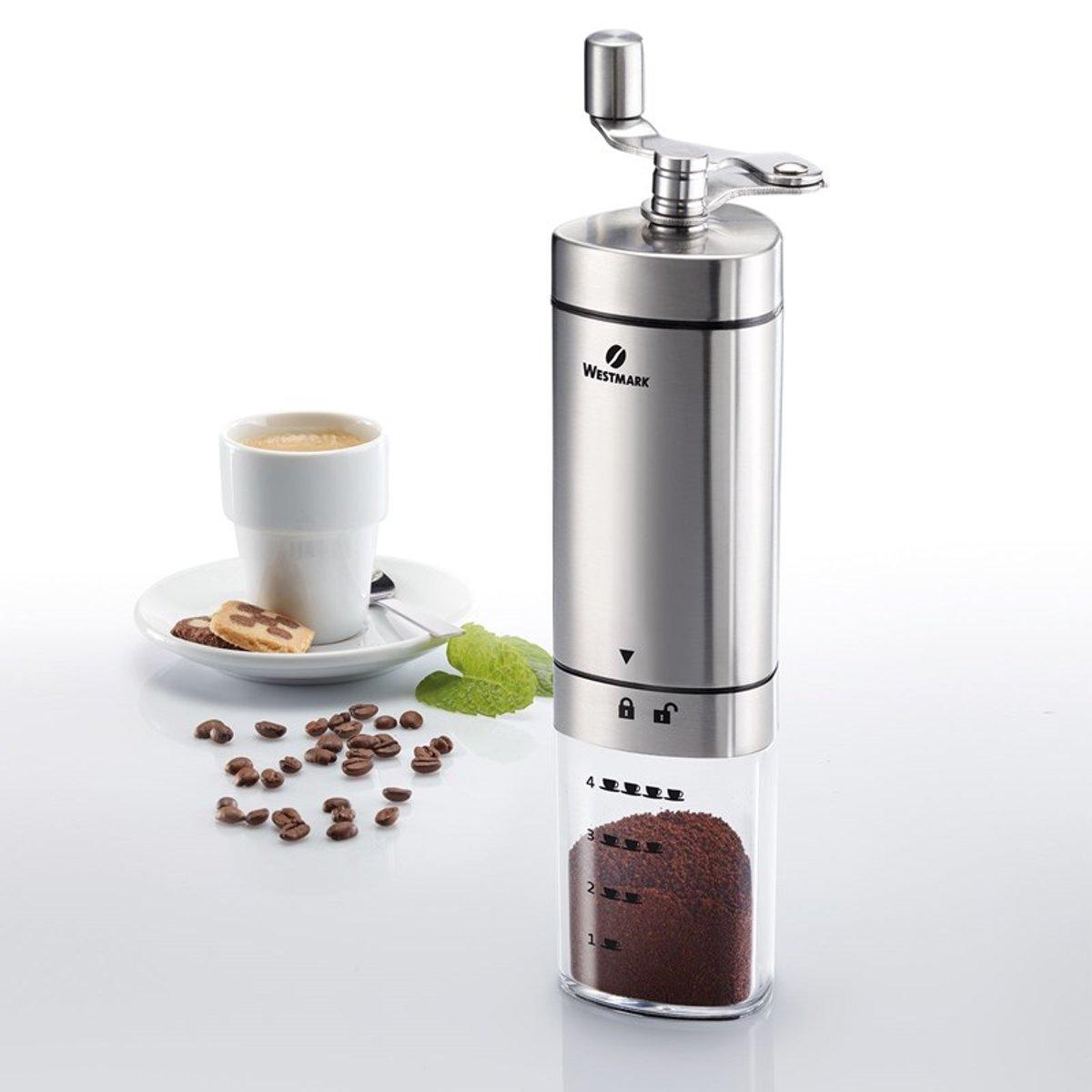 Westmark Koffiemolen Brasilia RVS kopen