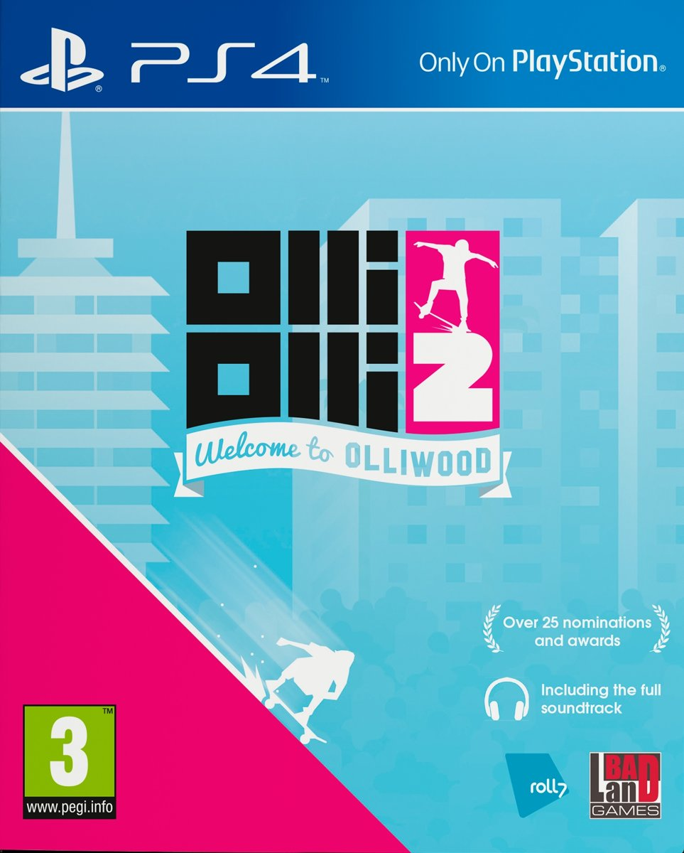 OlliOlli 2, Welcome to Olliwood PlayStation 4