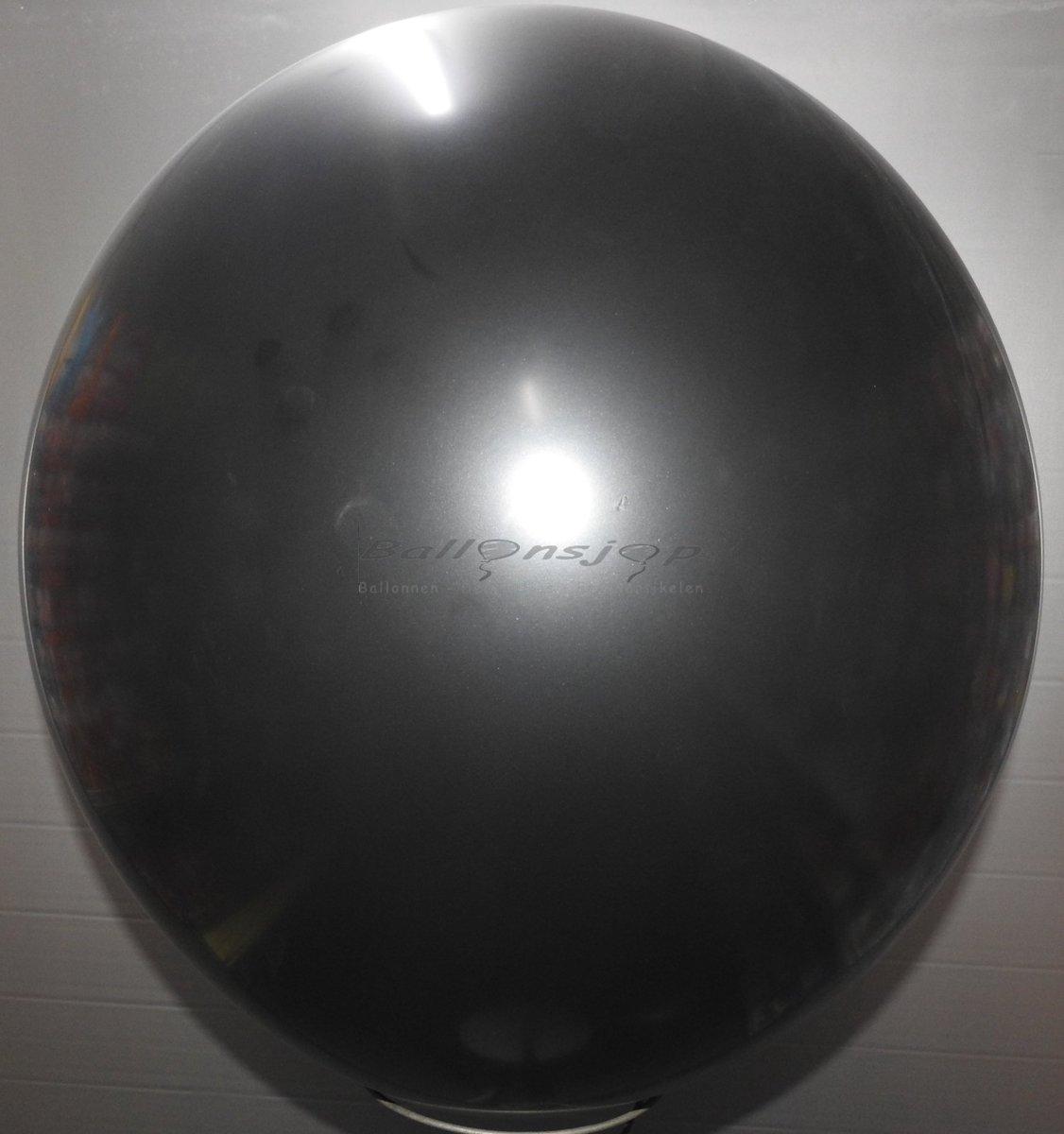 reuze ballon 80 cm 32 inch zwart