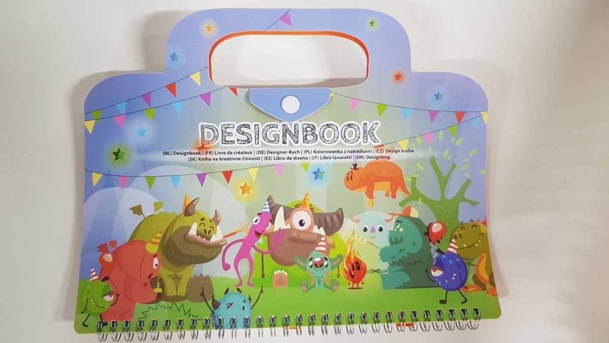 Designboek - Vriendelijke monsters