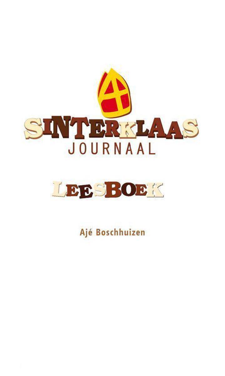 Bol Com Sinterklaasjournaal Lees En Luisterboek Aje