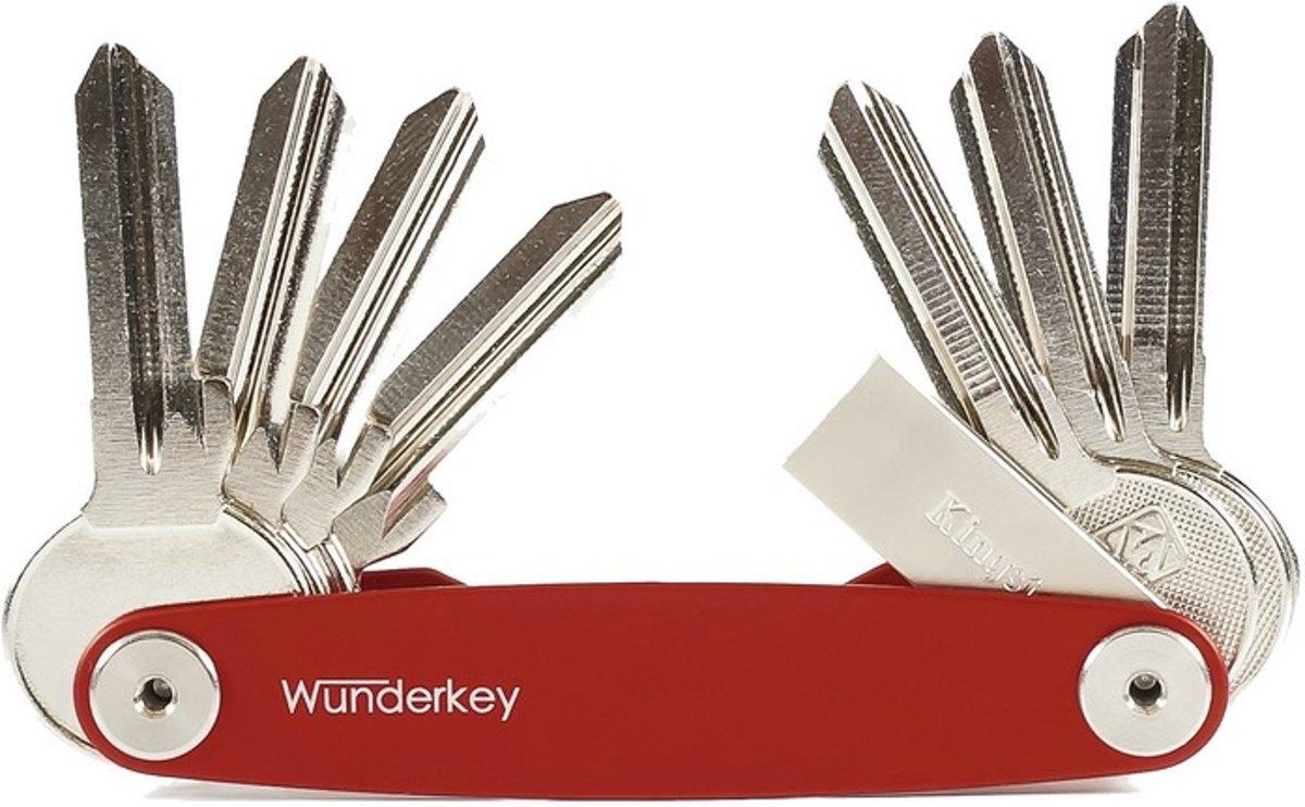 Wunderkey - Classic - Sleutelhouder - Rood kopen