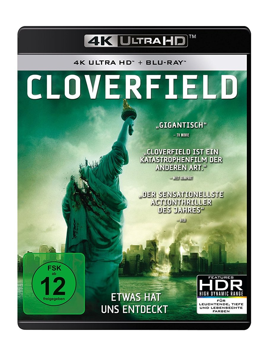 Cloverfield (Ultra HD Blu-ray & Blu-ray)-