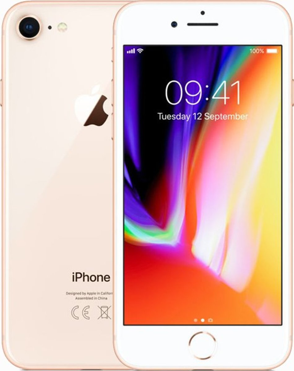 Iphone 8 64gb Gold  Refurbished Als Nieuw Catcomm kopen