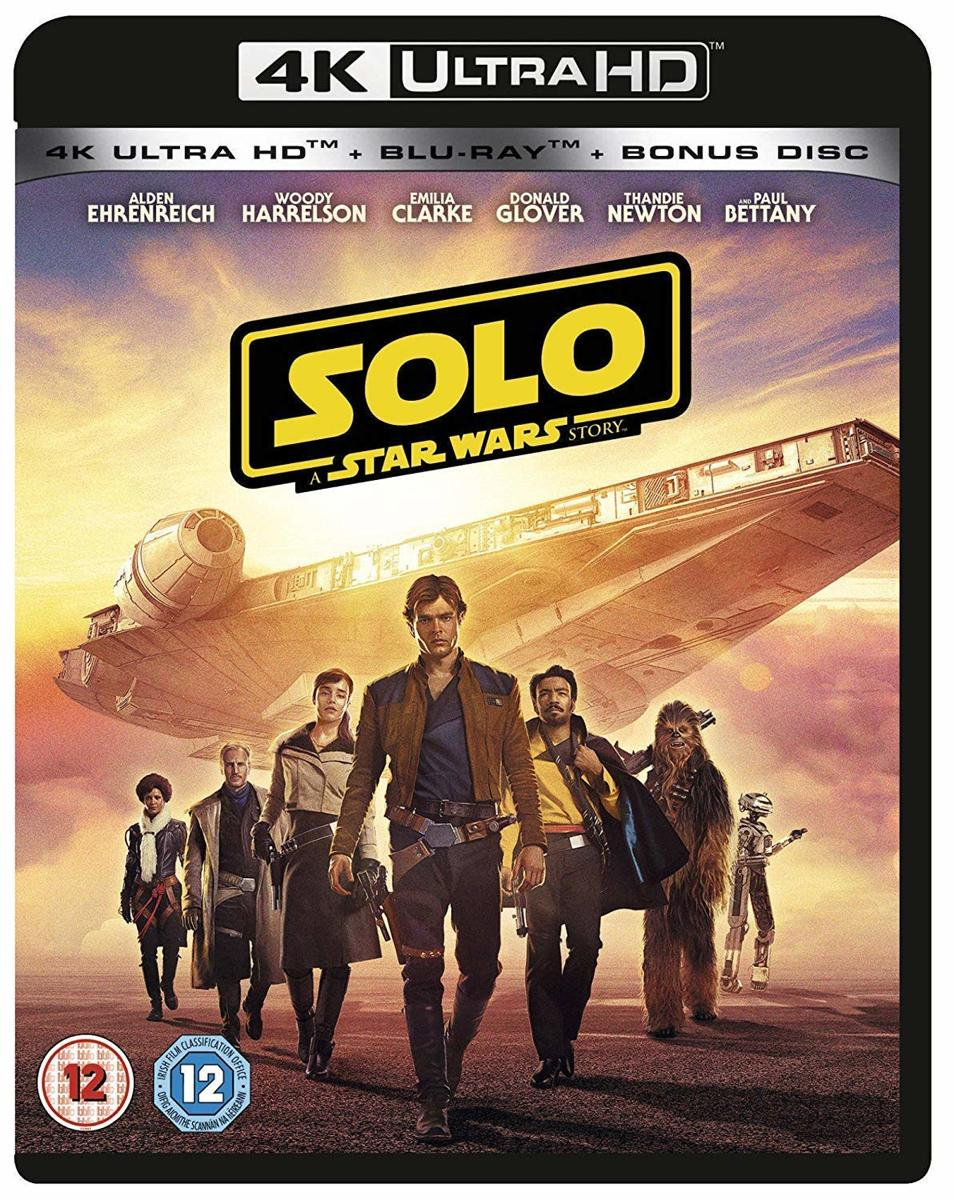 Solo - A Star Wars Story (4K UHD + blu-ray) (Import zonder NL)-