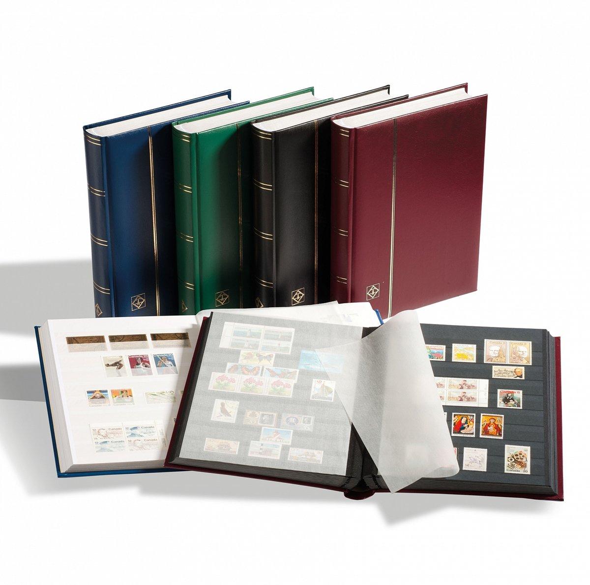 Wonderbaar bol.com | Luxe insteekalbum postzegels Comfort W32 bordeauxrood JP-54