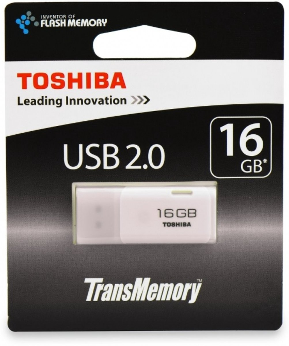 bolcom usb stick 16gb usb 20 wit toshiba