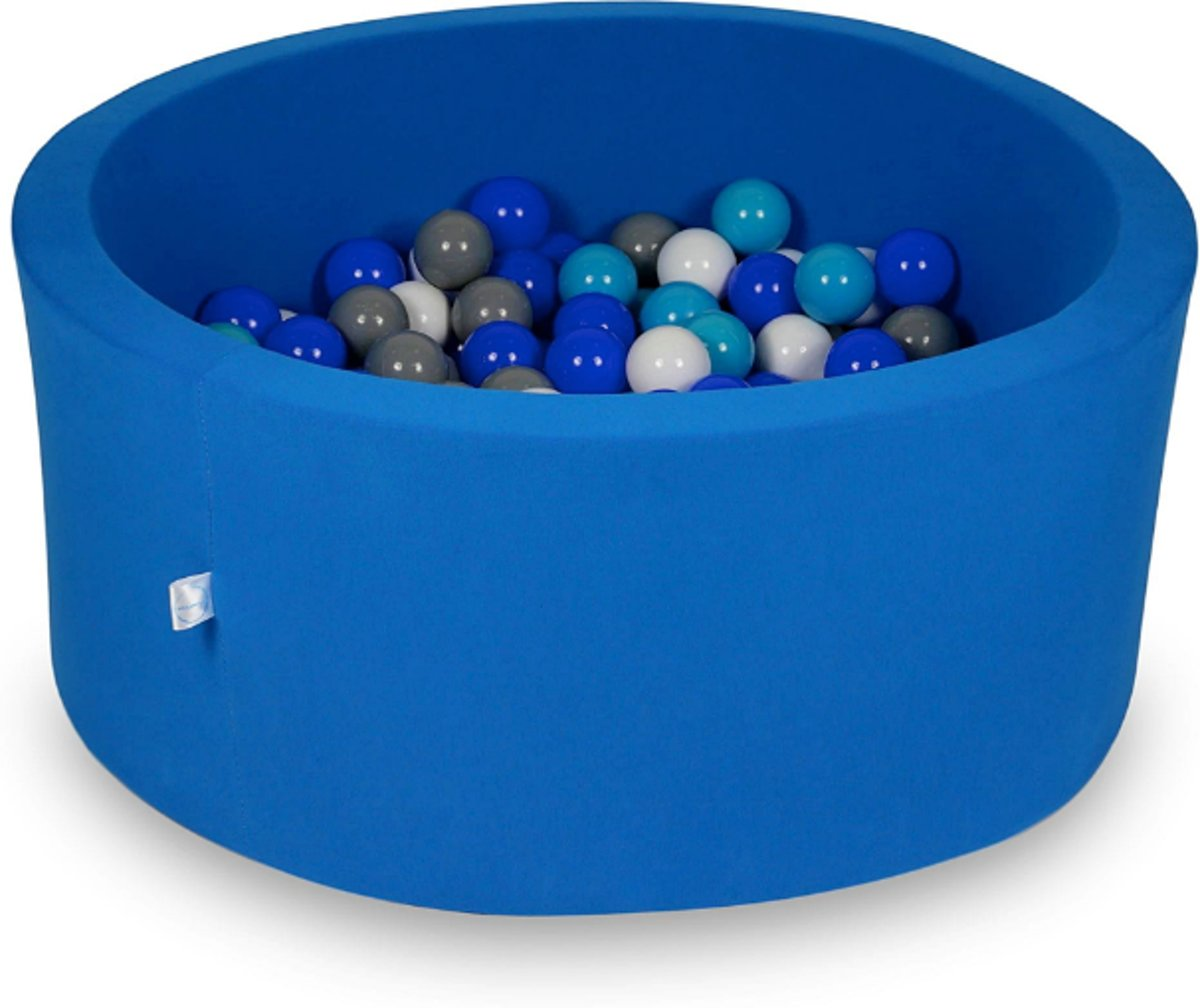Ballenbak - 300 ballen - 90 x 40 cm - ballenbad - rond blauw