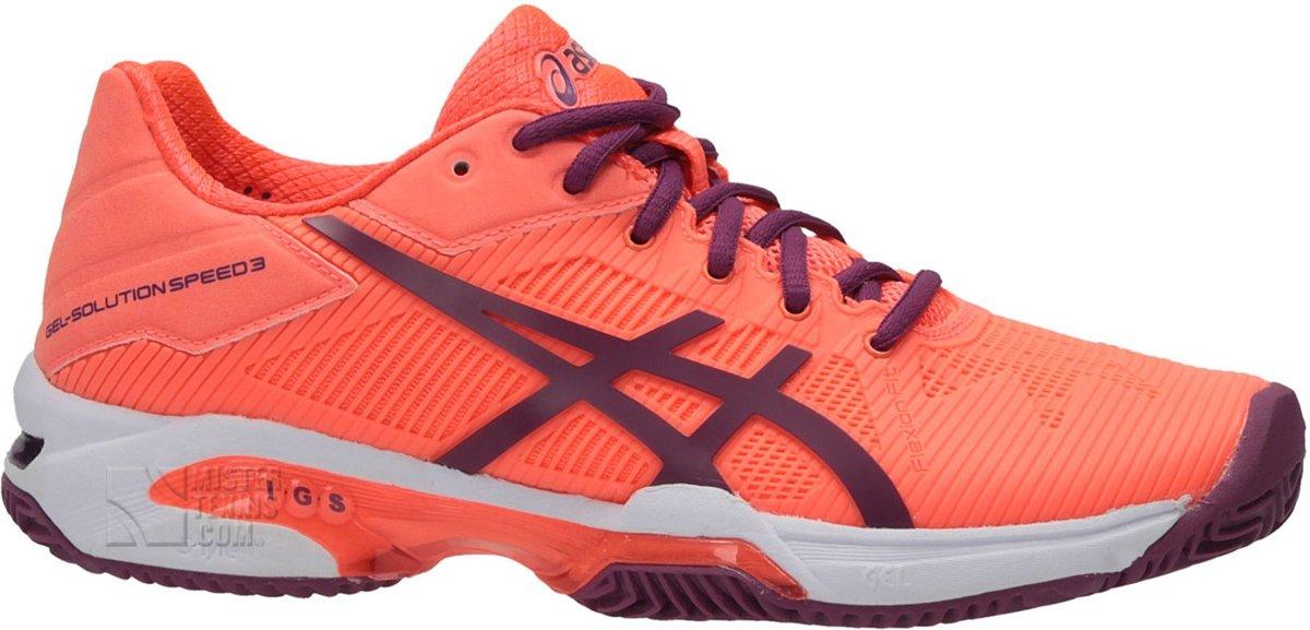 Asics Gel Resolution 7 Sportschoenen Maat 37 Vrouwen oranjepaars