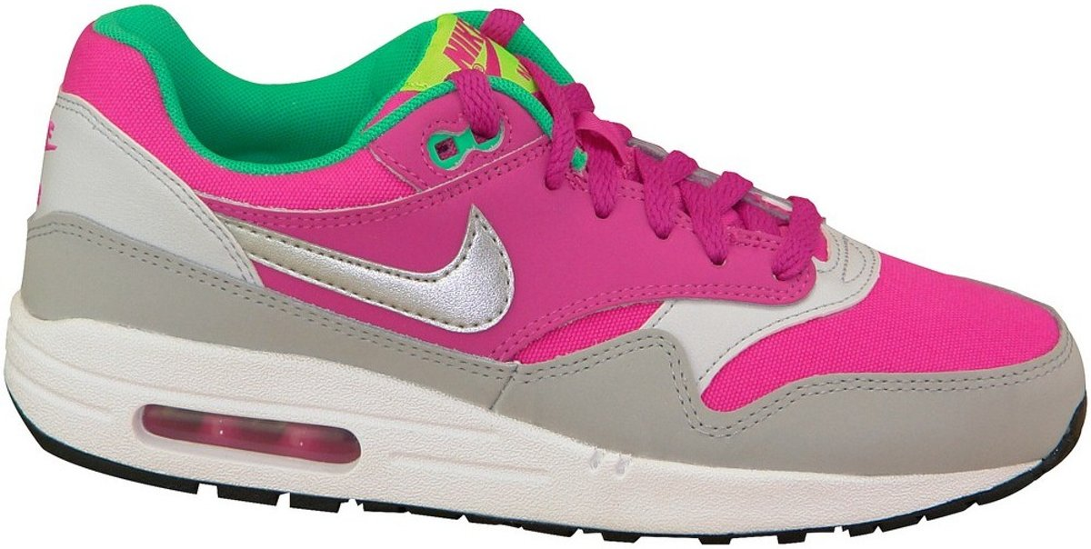 new products 8ced3 e43c7 ... Nike Air Max 1 GS - Sneakers - Roze Grijs - Meisjes - Maat 38 ...
