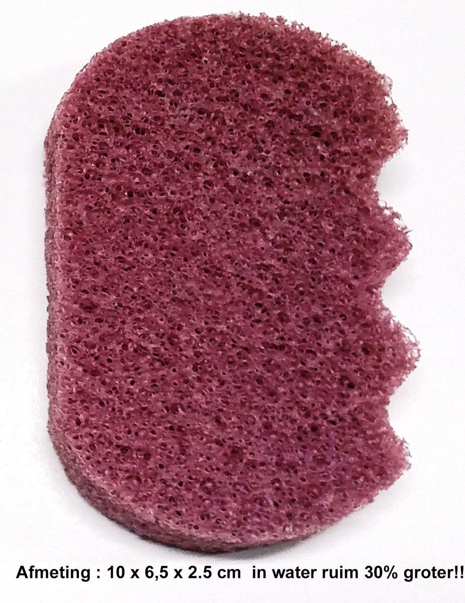 Aroma - Ergonomische Badspons - Viooltjes - Voordeelverpakking - 2 Stuks!! kopen