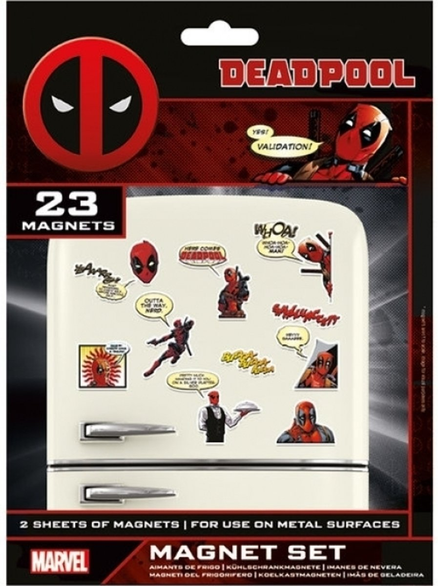 DEADPOOL - Magnet Set - Comic kopen