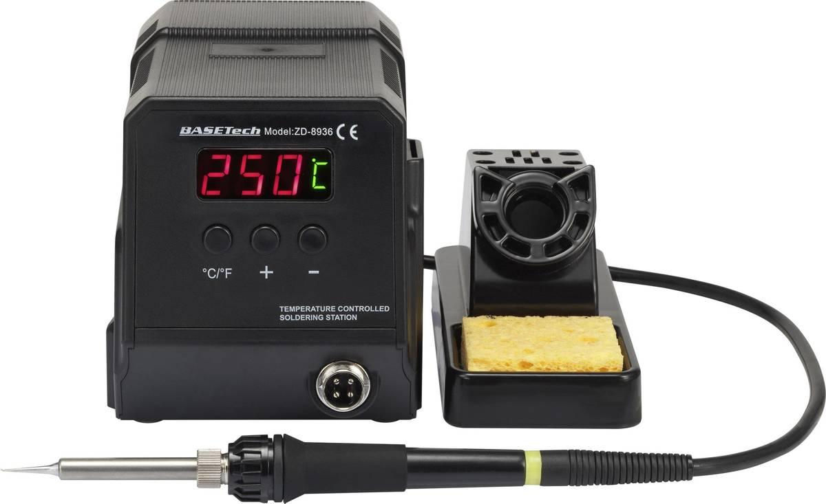Digitaal Soldeerstation 60 W 50 tot 480 °C Basetech kopen