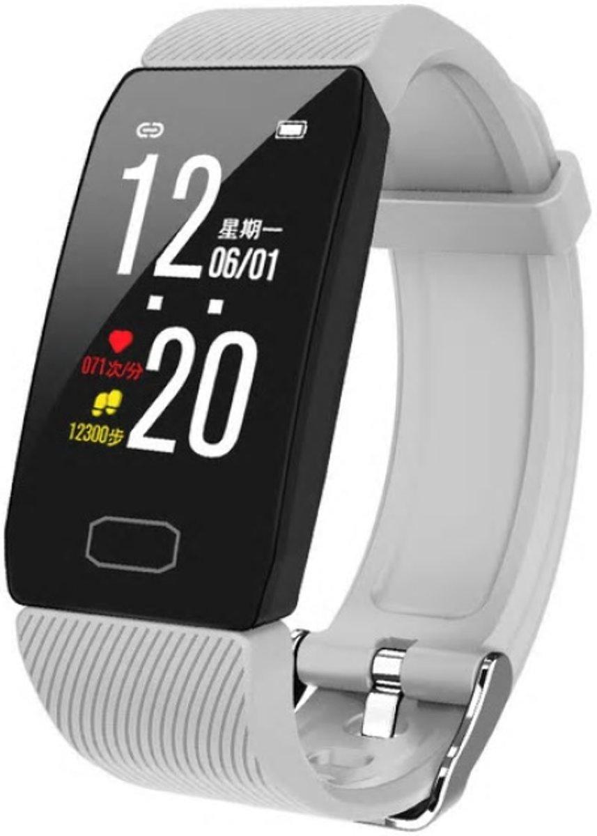 Belesy® Nexus - Smartwatch - Stappenteller - Horloge - 1,14 inch - Kleurenscherm – Wit kopen