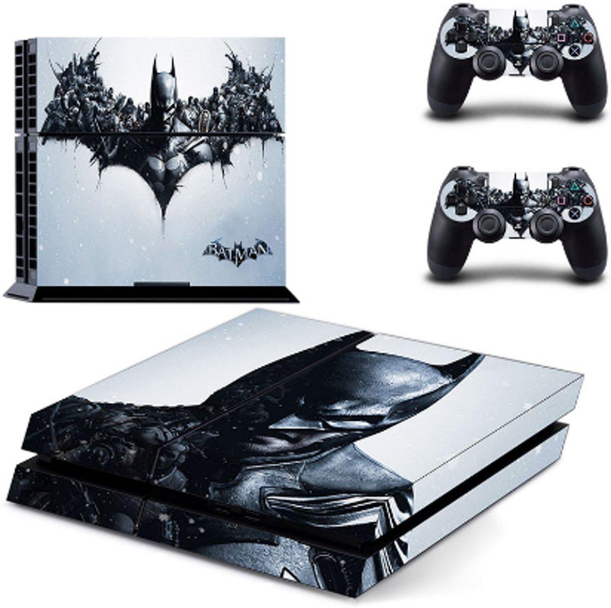 PlayStation 4 skin Batman design - PS4 sticker set kopen