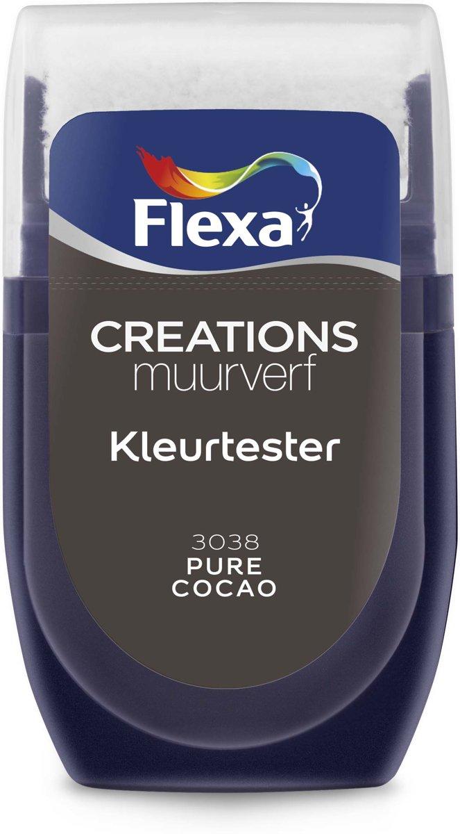 Flexa Creations Muurverf Tester 3038 Pure Cocao 30ml kopen