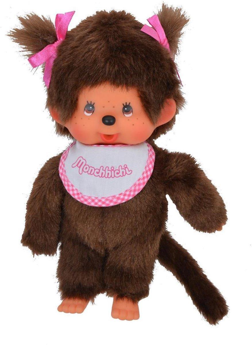 Monchhichi 20 Cm Meisje Roze Met Slab