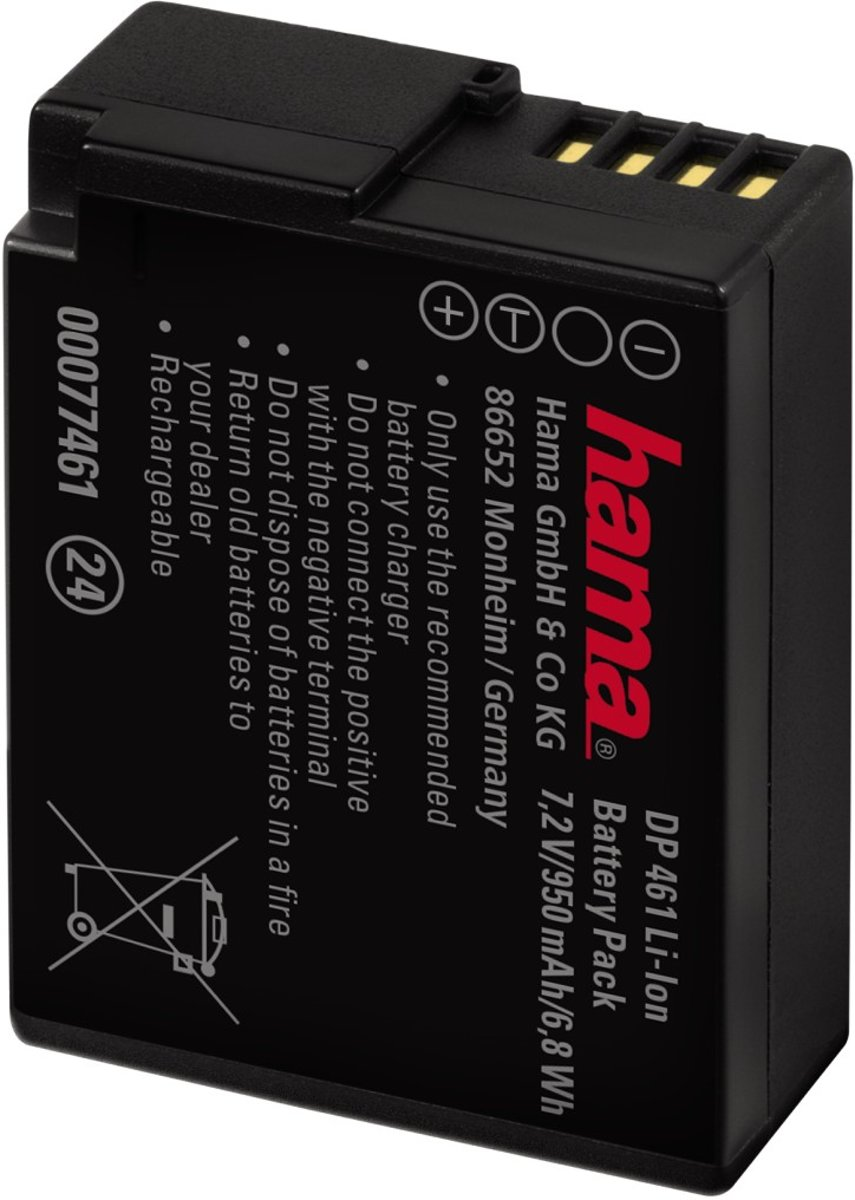 HAMA Accu Panasonic DMW-BLC12 kopen