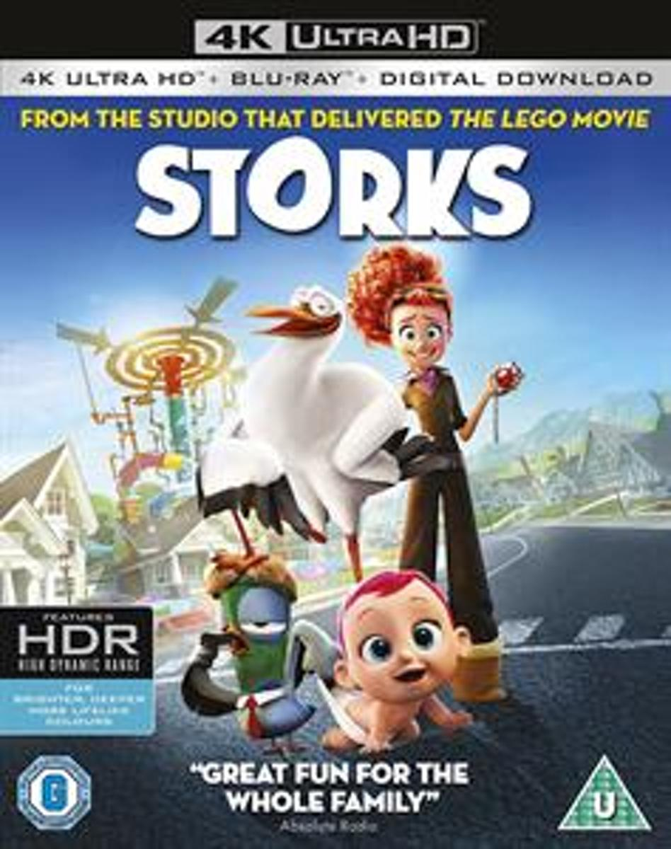 Storks (4K Ultra HD Blu-ray) (Import)-
