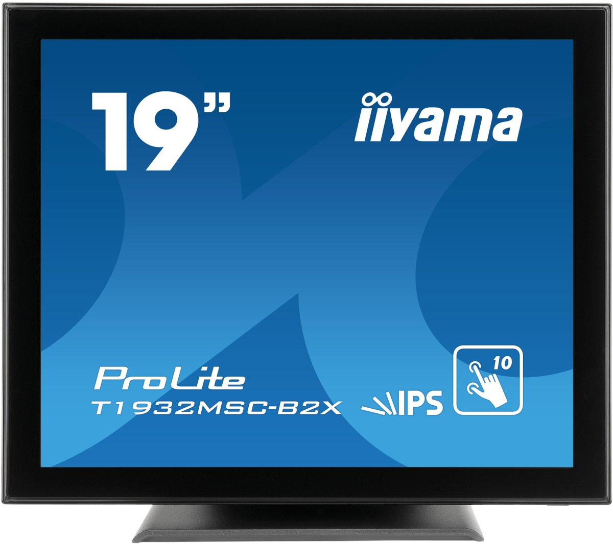 iiyama ProLite T1932MSC-B2X 19'' 1280 x 1024Pixels Multi-touch Zwart touch screen-monitor