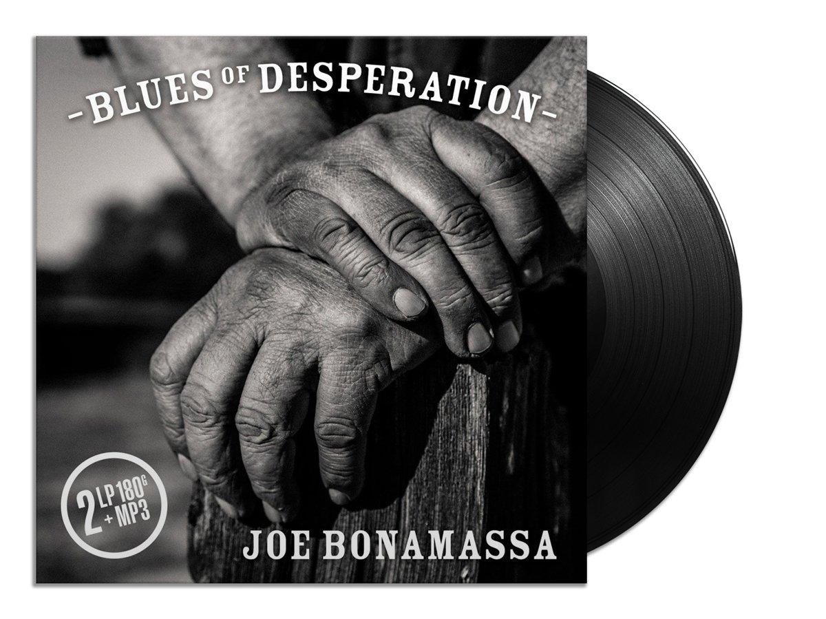 Joe Bonamassa - Blues Of Desperation (2 Lpgatefold Black Vinyl + Mp3)   LP kopen
