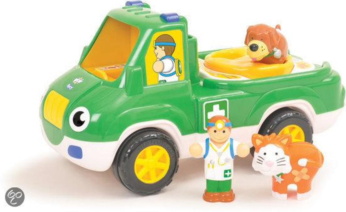 WOW Toys Pet Rescue Percy - Dierenambulance