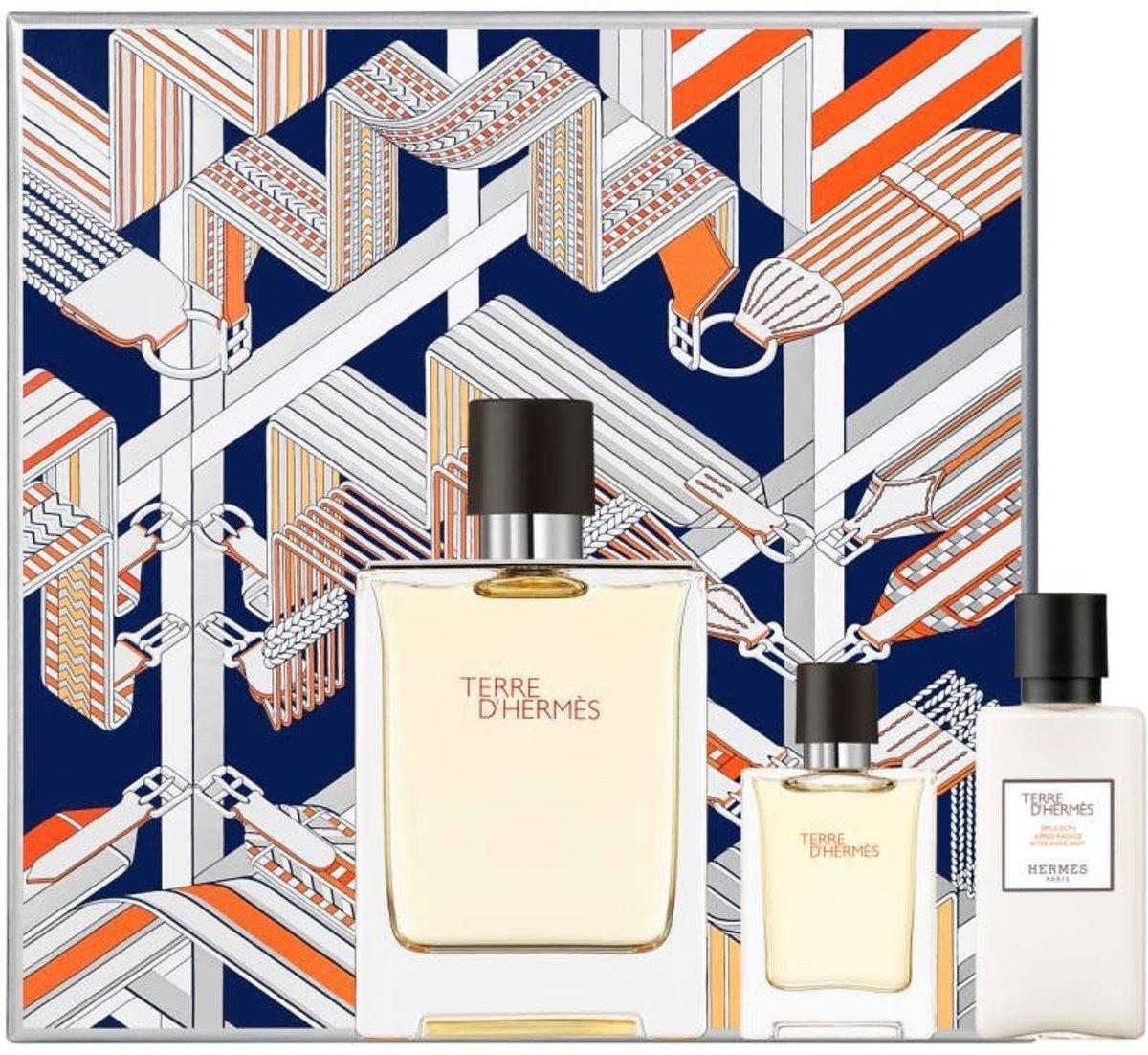 Hermes Geschenkset Terre Dhermes 100 Ml 40 125 D Eau Tres Fraiche For Men Edt 125ml Voor Mannen