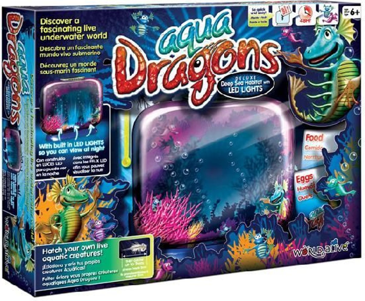 Aqua Dragons - Sea Monkeys Aquarium + Led kopen