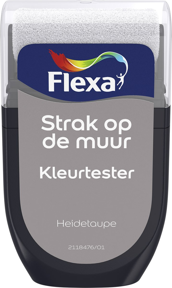 Flexa Strak op de Muur Tester - Watergedragen - Mat - heidetaupe - 0,3 liter kopen