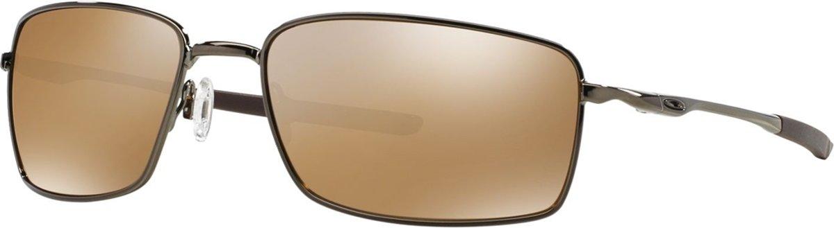 Oakley Square Wire - Zonnebril - Tungsten - Tungsten Iridium Polarized kopen