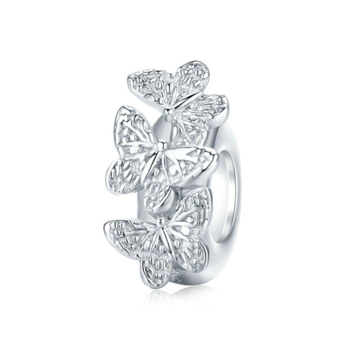 Zilveren stopper Vlinder kopen