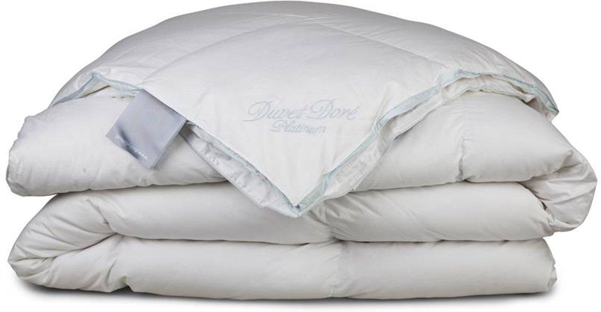 Duvet Doré Platinum - Donzen 4-seizoenen dekbed - Tweepersoons - 200x200 cm kopen