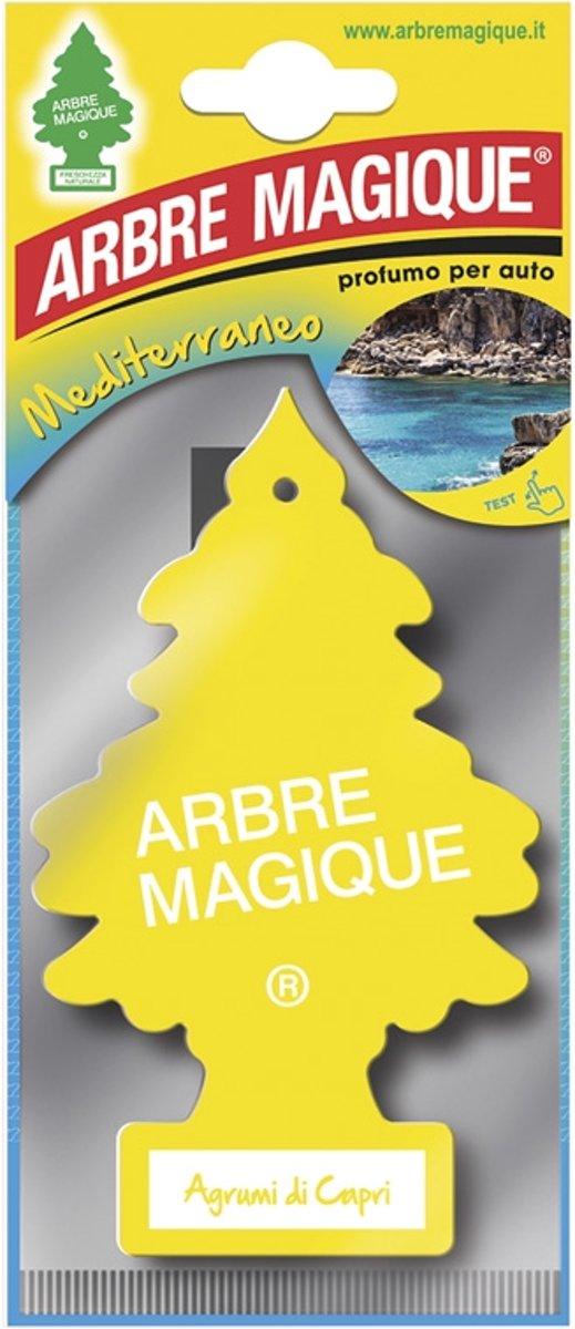 Arbre Magique luchtverfrisser Agrumi Di Capri geel kopen