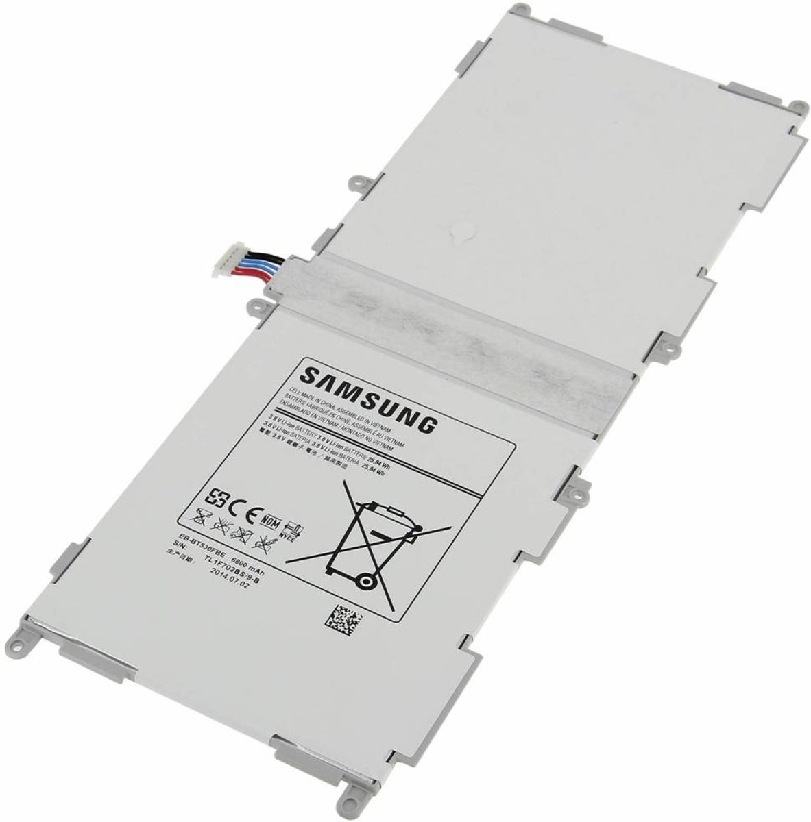 Accu / Batterij voor Samsung Galaxy Tab 4 10.1 T530 - EB-BT530FBE - 6800mAh kopen