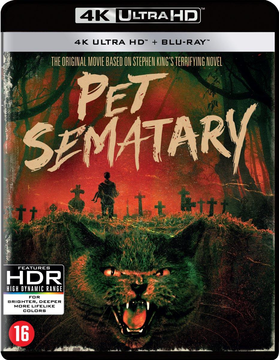 Pet Sematary (Remastered '19) (Ultra HD Blu-ray)-