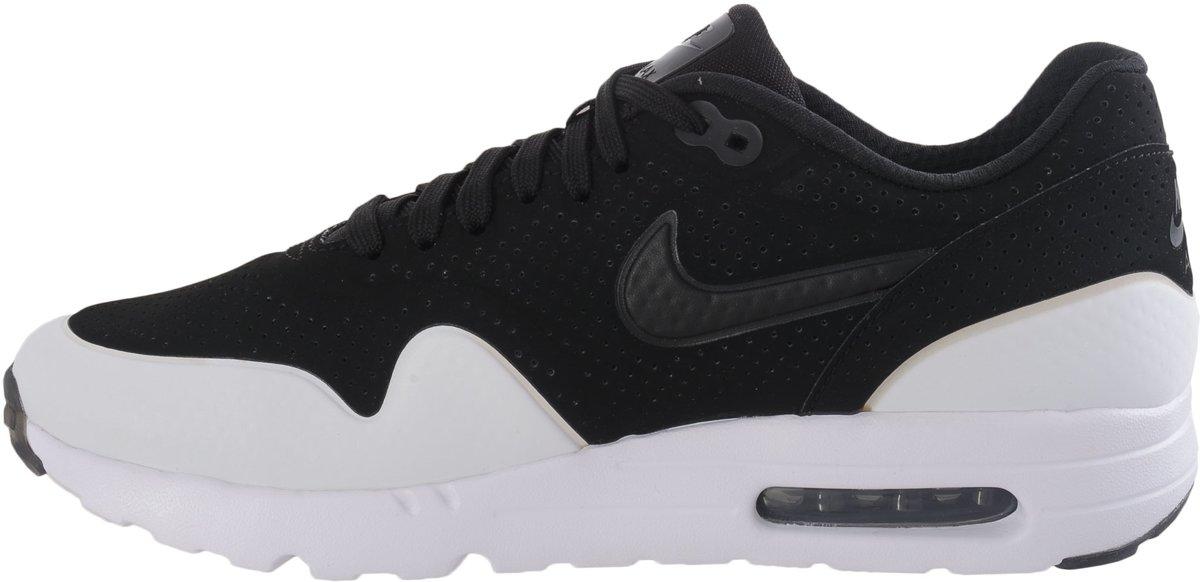d55e6ff499c bol.com | Nike Air Max 1 Ultra Moire Sportschoenen - Maat 44.5 - Mannen -  zwart/wit