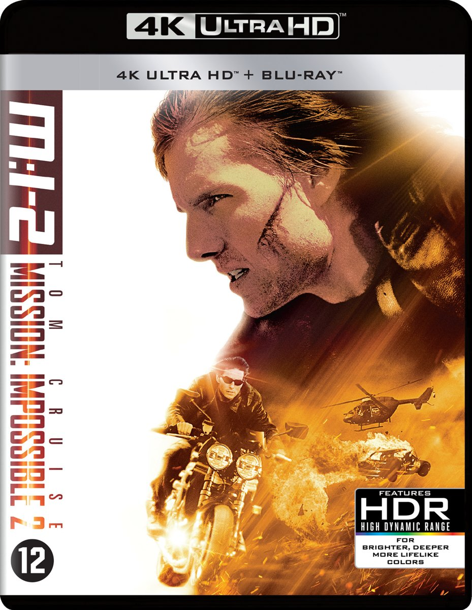 Mission: Impossible II (Ultra HD Blu-ray)-