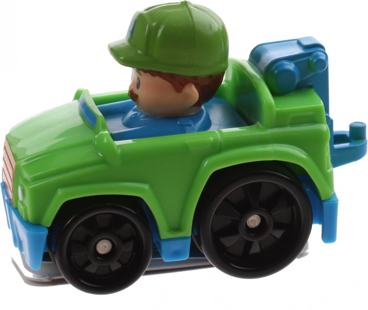 Fisher-price Little People Wheelies Auto 6,5 Cm Groen (drg95)