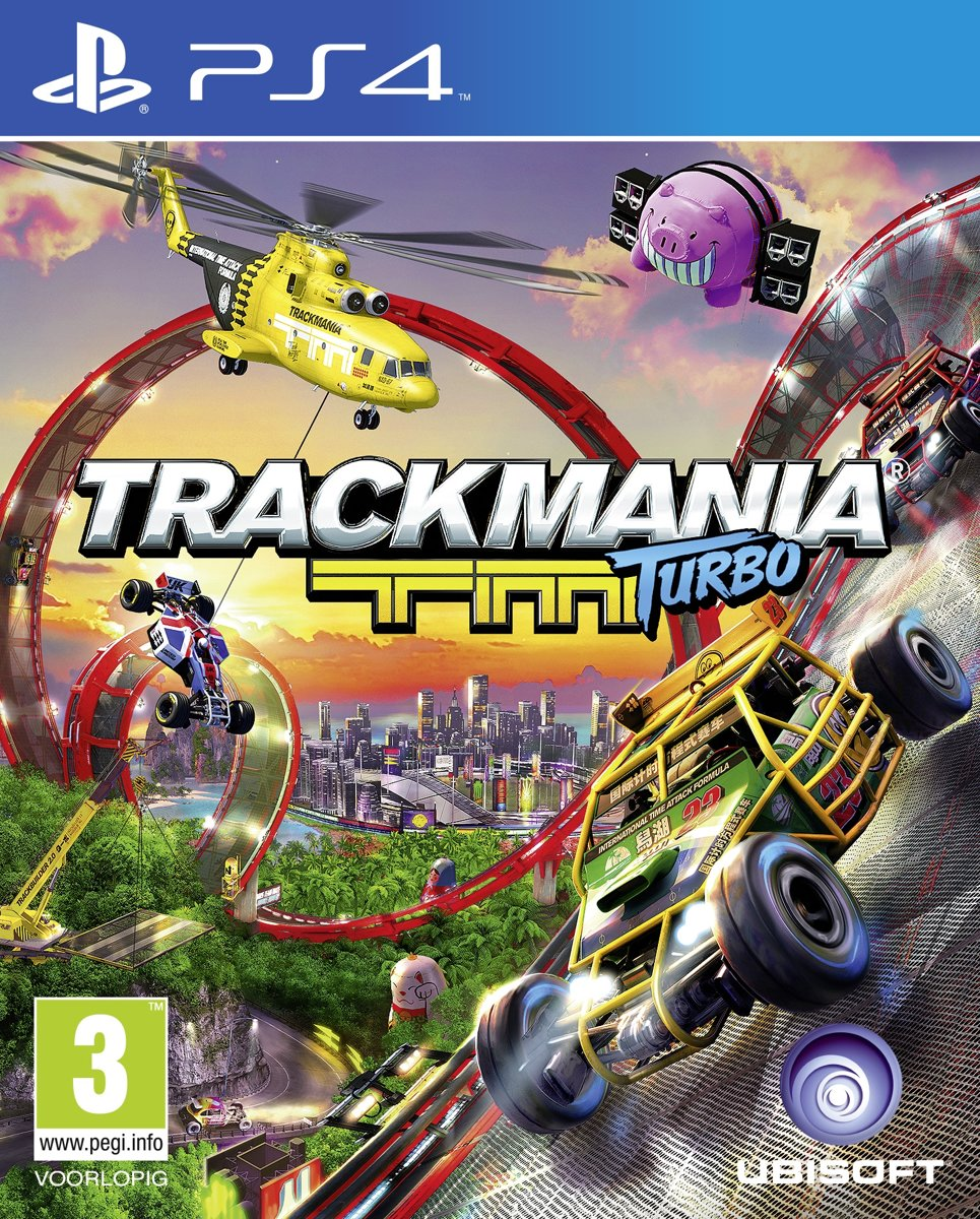 Trackmania Turbo - PS4 voor €14,99