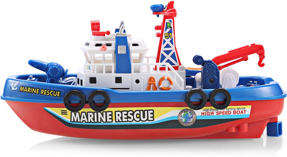 Ninzer Brandbestrijdings en reddingssboot met licht en geluid