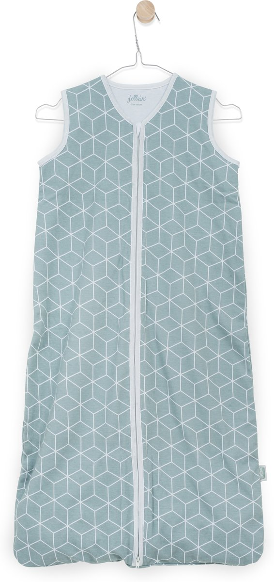 Jollein Graphic Slaapzak zomer 110cm jersey stone green