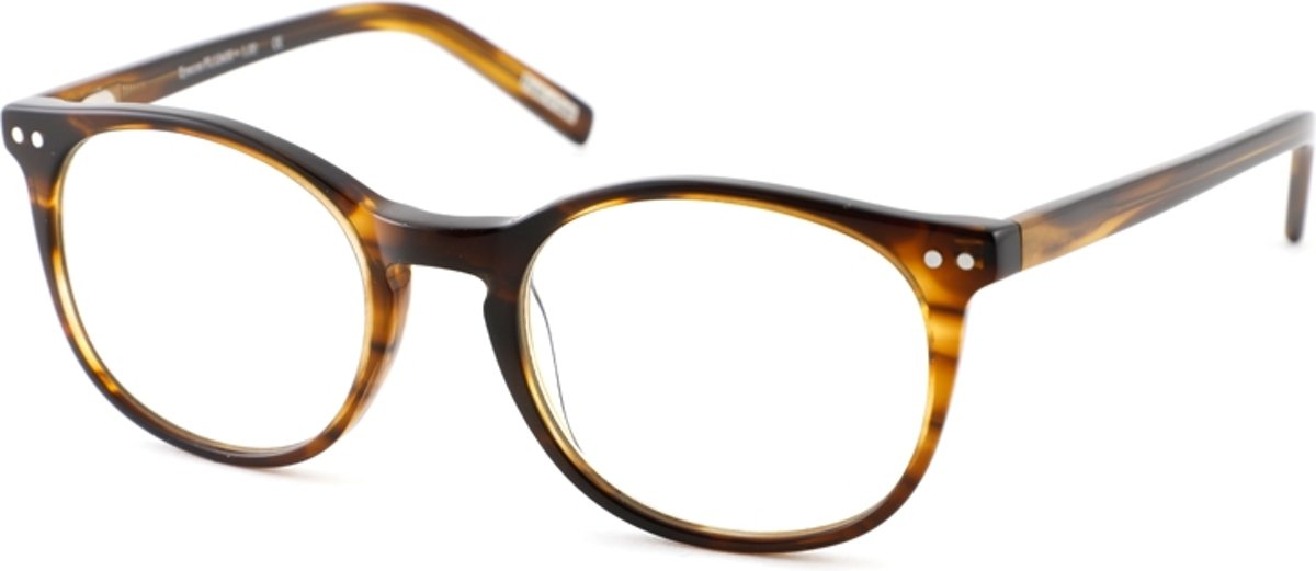 Leesbril Frank and Lucie Eyecon FL12400 Amber Brown -+2.50 kopen