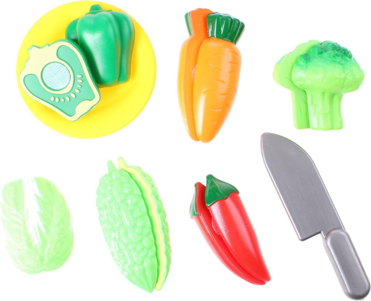 Home And Kitchen Snijset Fruit En Groente Paprika 12-delig