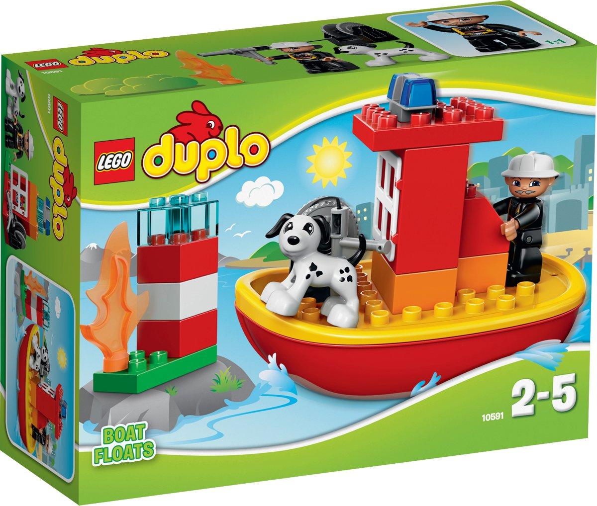 LEGO DUPLO Brandweerboot - 10591