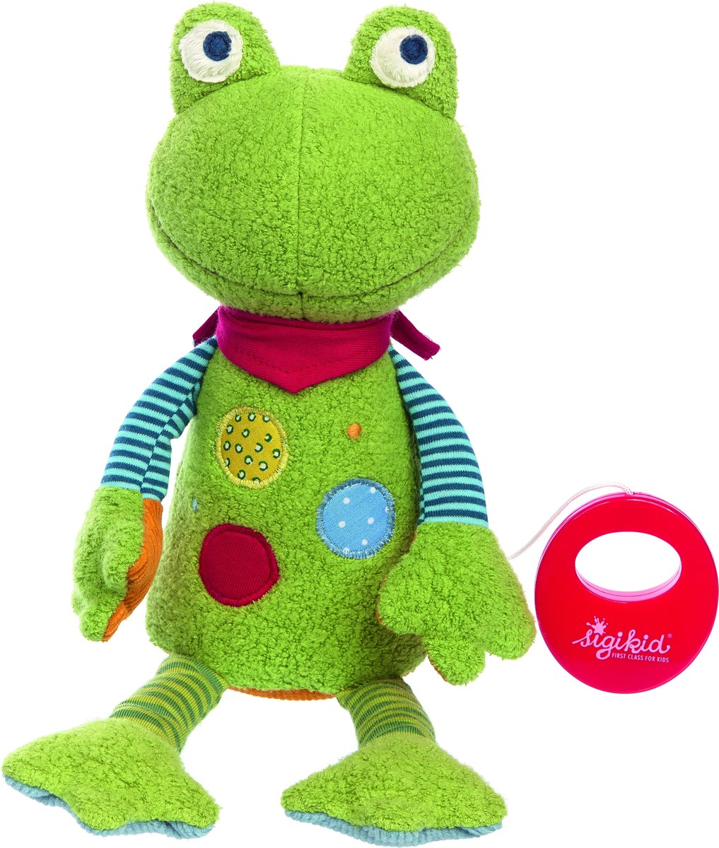 sigikid Musical frog, Flecken Frog 39150 kopen