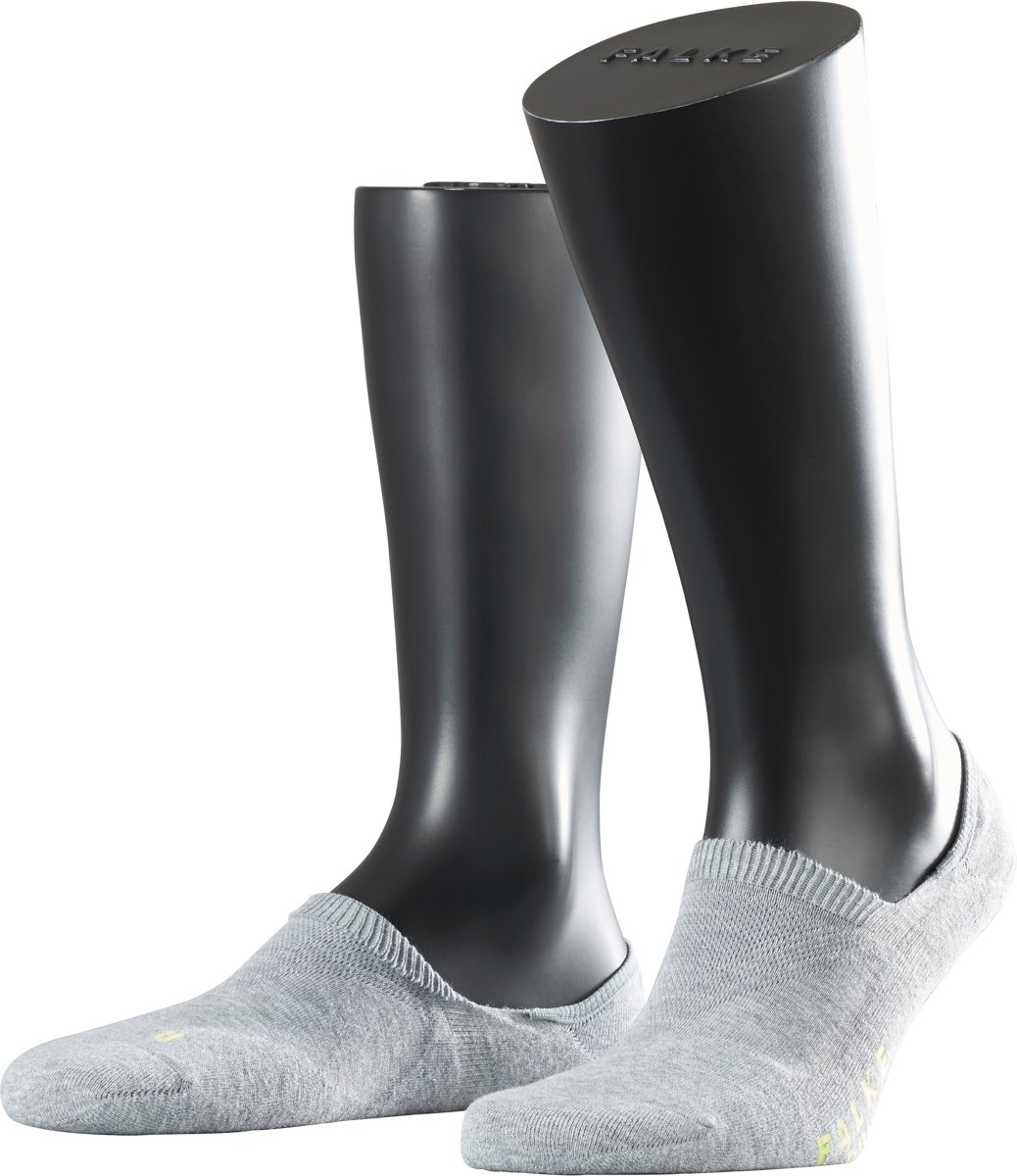 FALKE Cool Kick Invisible Sneakersokken - Licht grijs - Maat 46-48 kopen